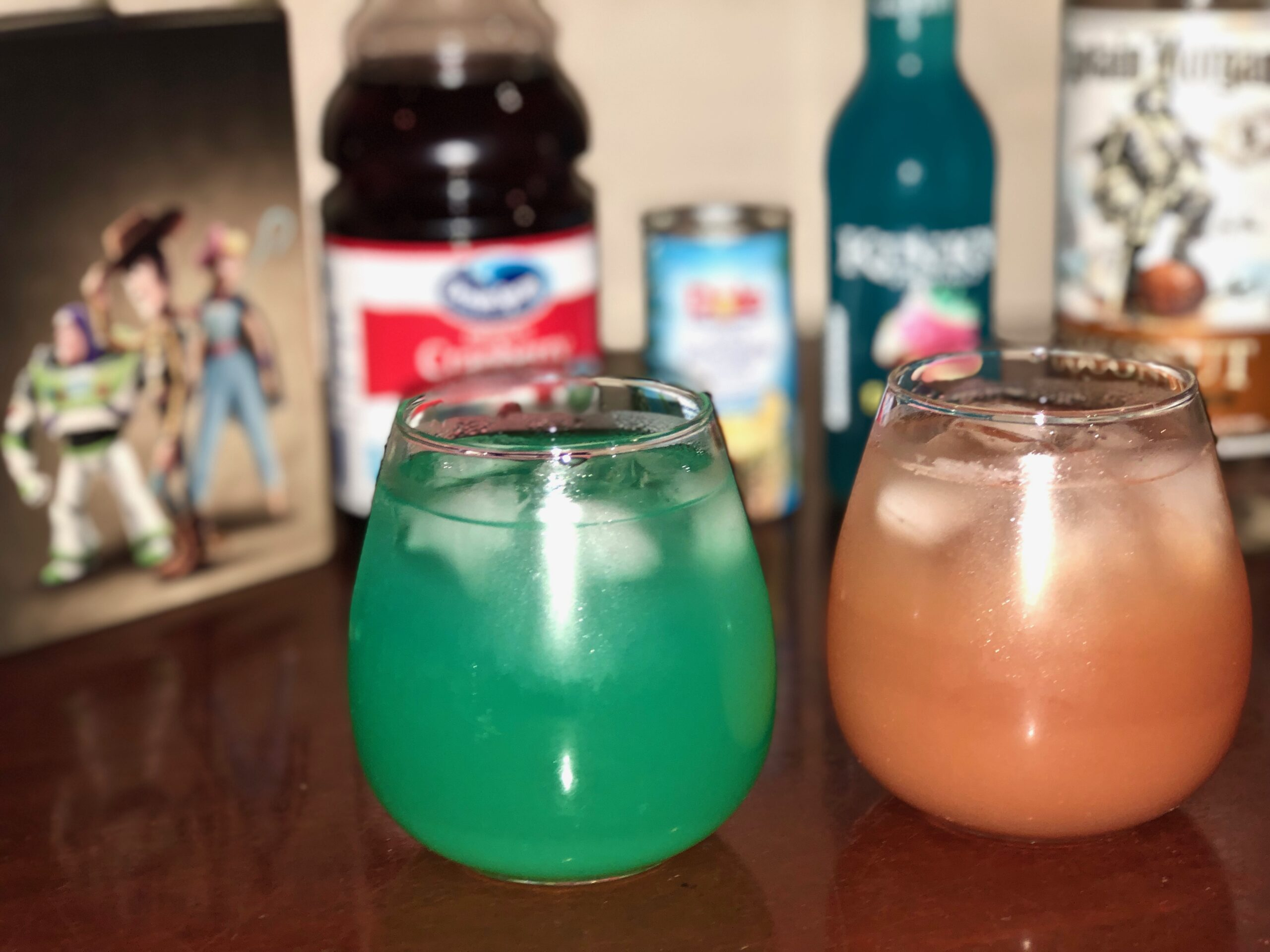 Toy Story 4 Themed Cocktails
