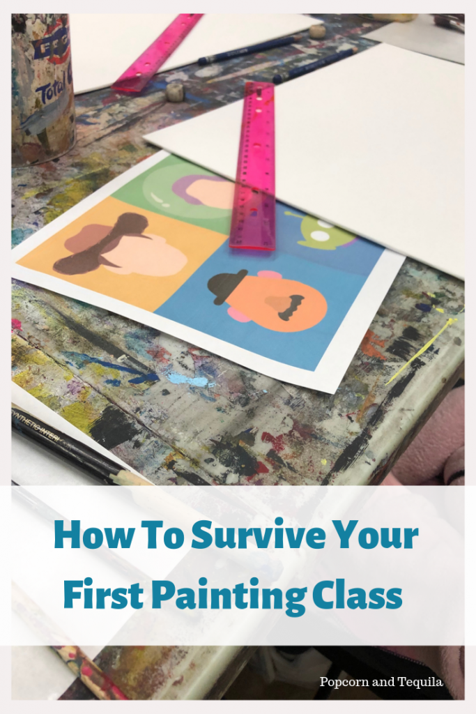 How To Survive Your First Painting Class