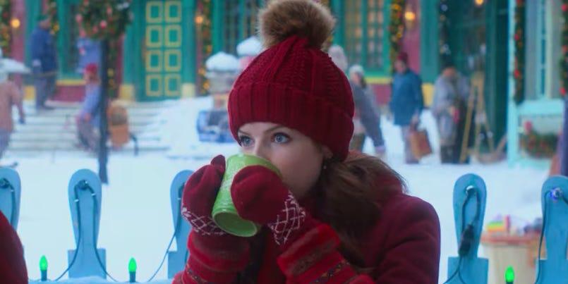 Noelle Christmas Drinking Game - noelle drinking cocoa