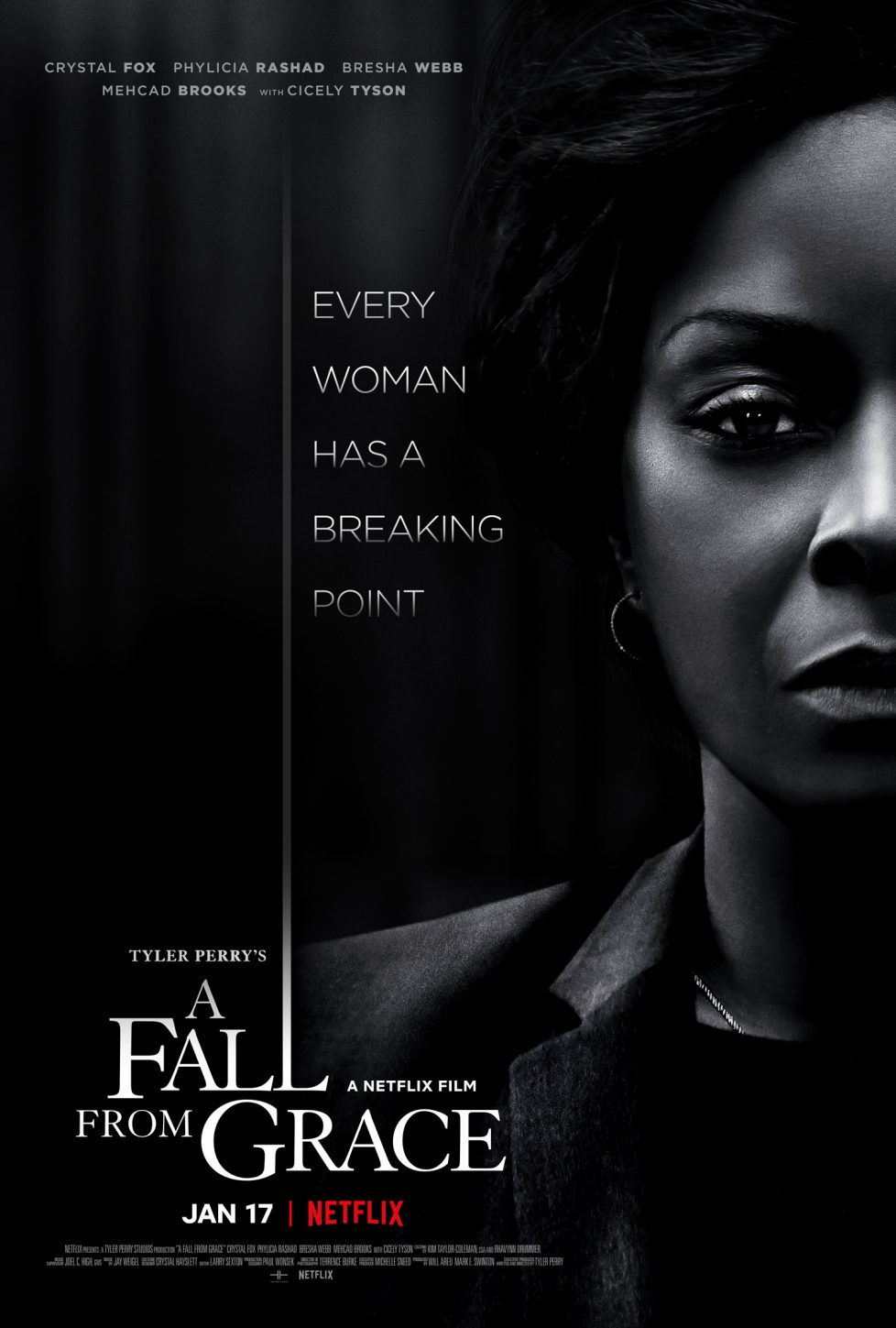 a fall from grace movie poster