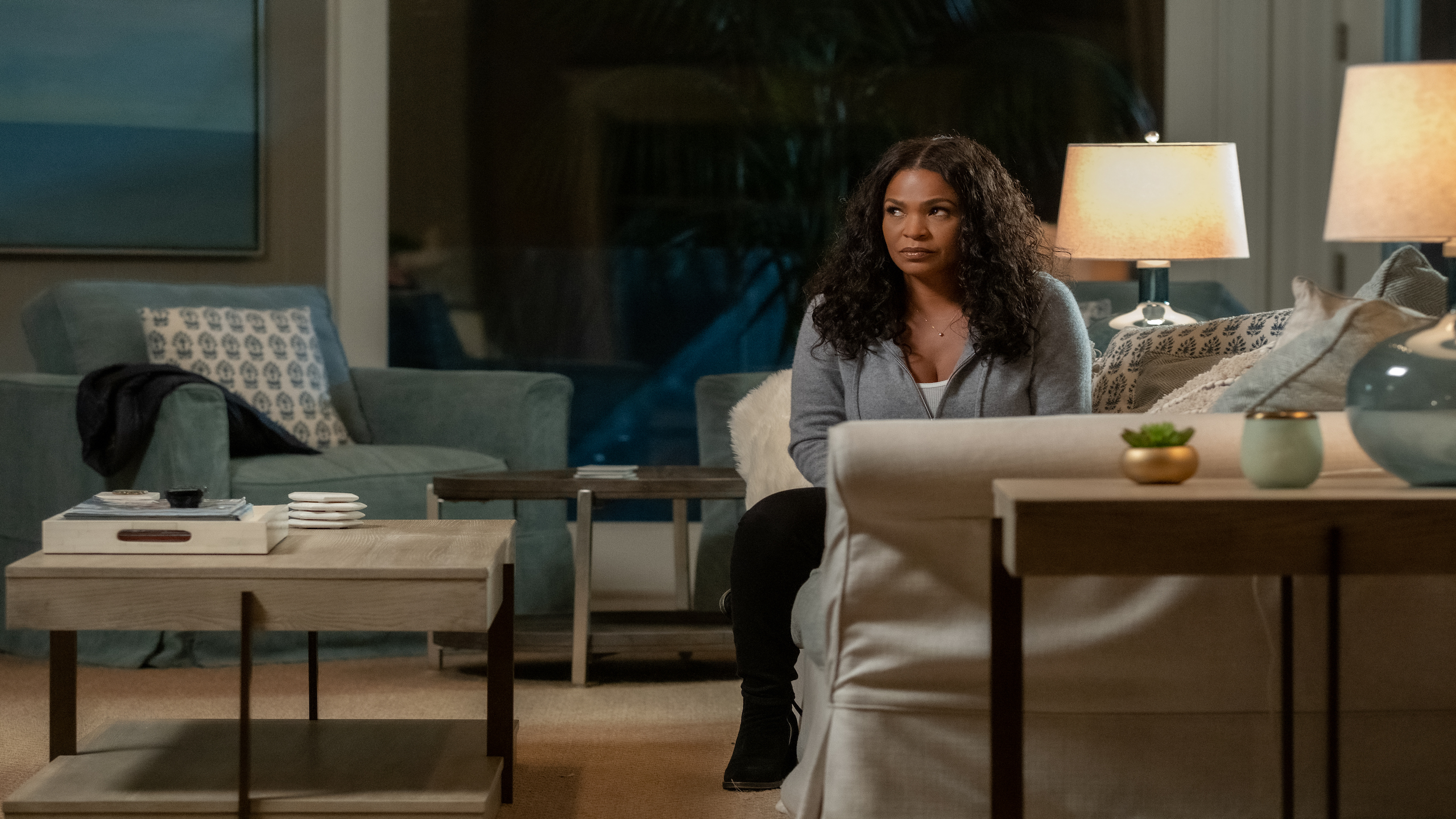 FATAL AFFAIR: NIA LONG as ELLIE. Cr. BETH DUBBER/NETFLIX © 2020
