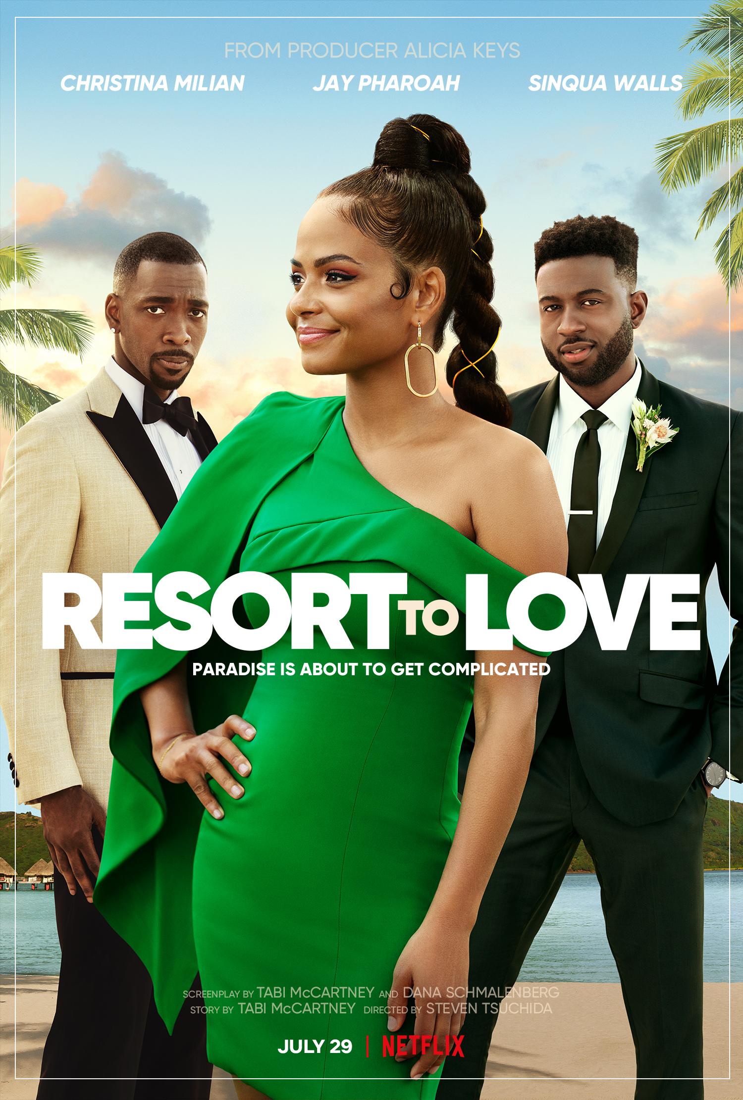 resort to love movie poster
