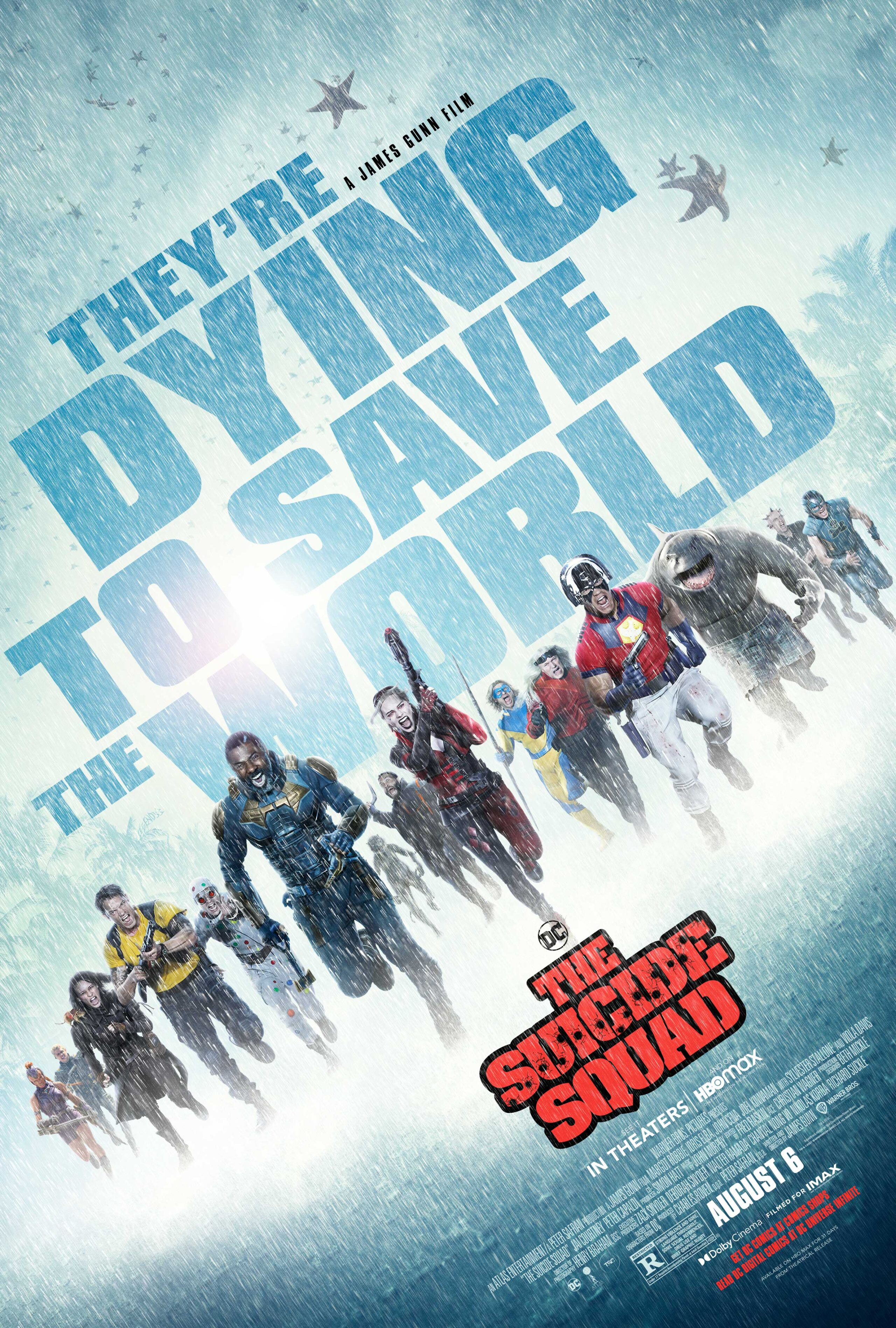 the suicide squad 2021 movie review and poster