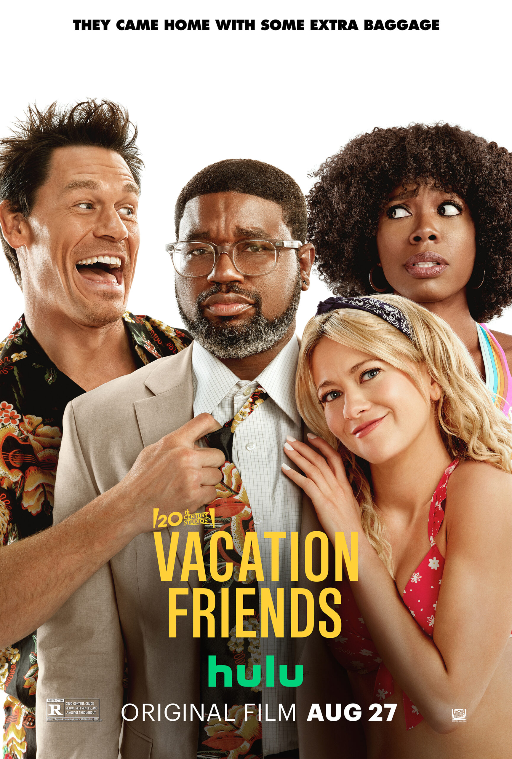 vacation friends hulu movie poster